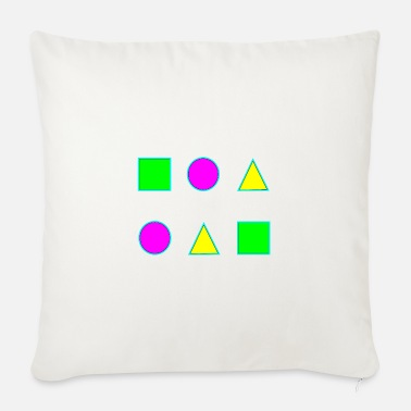 Geometric shapes - Sofa pillow with filling 45cm x 45cm