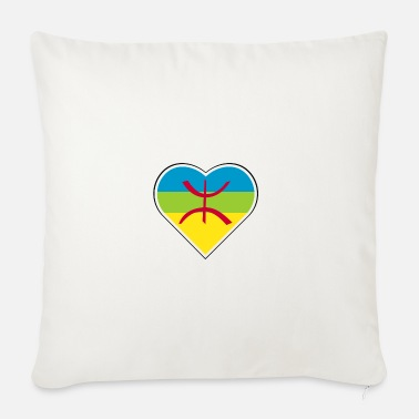 Panberberes My heart beats for the Berber people - Sofa pillow with filling 45cm x 45cm