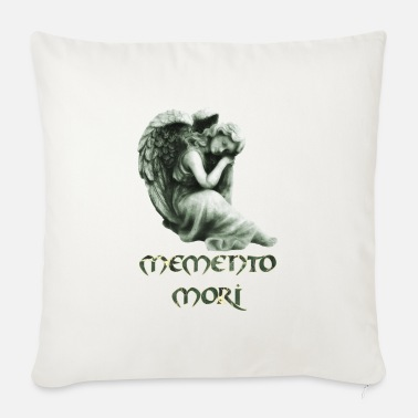 Figure Of Speech remember that you will die e 226 with angel - Sofa pillow with filling 45cm x 45cm
