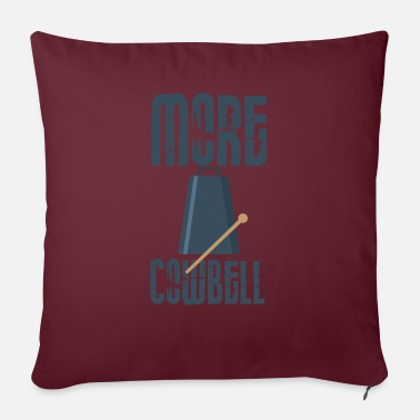 Cowbell Cowbell Lover Mehr Cowbell Music Lover Pun - Sofakissen mit Füllung 44 x 44 cm