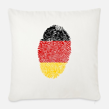 Imprint Imprint Germany Imprint with the flag Germany - Sofa pillow with filling 45cm x 45cm