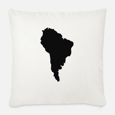 South America South America - Sofa pillow with filling 45cm x 45cm