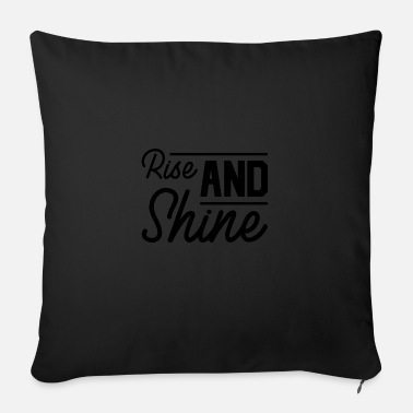 Cross Christianity Rise and Shine - Sofa pillow with filling 45cm x 45cm
