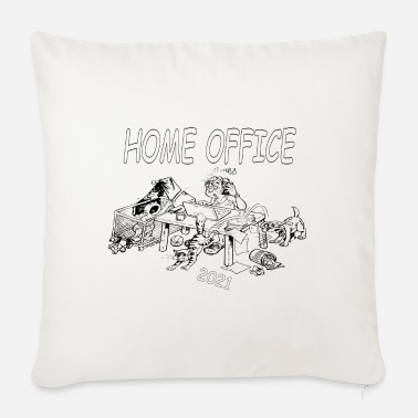 Home Office Man home office - Sofa pillow with filling 45cm x 45cm