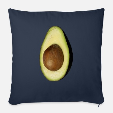 Eddart Real Photo Trendy AVOCADO vertical - Sofakissen mit Füllung 44 x 44 cm