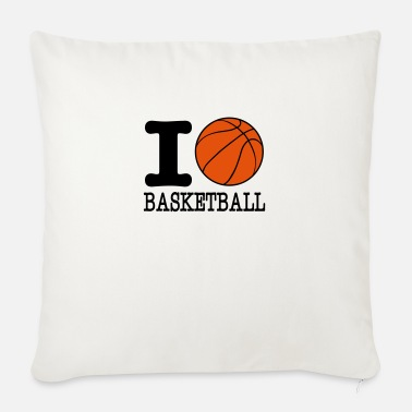 I Love Basketball I love basketball / I love basketball - Sofa pillow with filling 45cm x 45cm