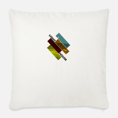 lighthouse - Sofa pillow with filling 45cm x 45cm