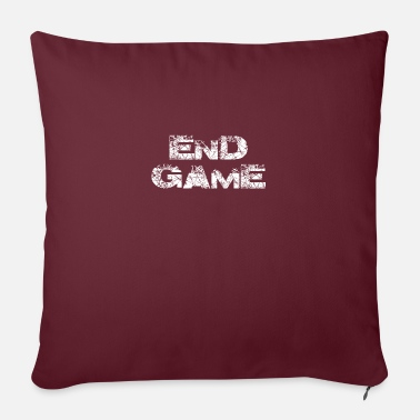End Game END GAME GAMER PLAYER THE END GIFT IDEA - Sofa pillow with filling 45cm x 45cm