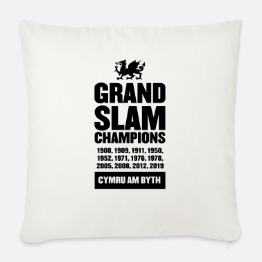 Grand Slam Wales - Grand Slam Champions - Sofa pillow with filling 45cm x 45cm