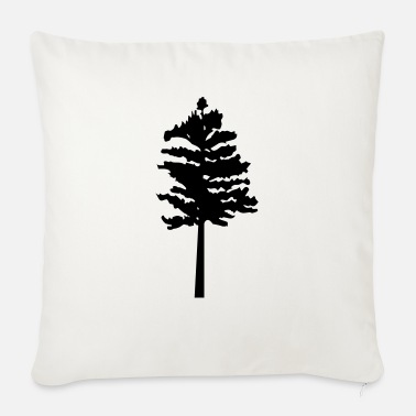 Tree trees - tree - Sofa pillow with filling 45cm x 45cm