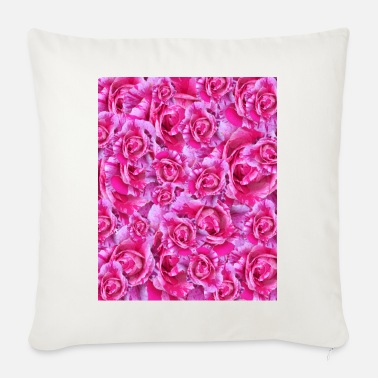roses - Sofa pillow with filling 45cm x 45cm