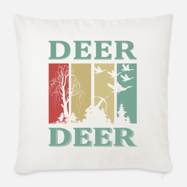 Duck Deer Deer - Sofa pillow with filling 45cm x 45cm