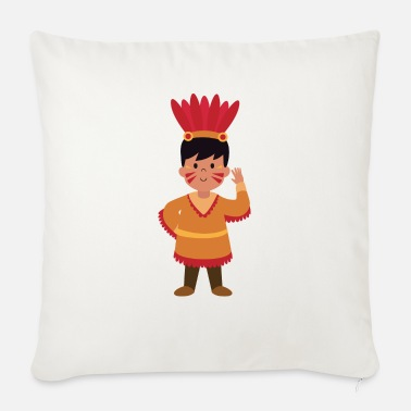 Indian Indians, Indians - Sofa pillow with filling 45cm x 45cm