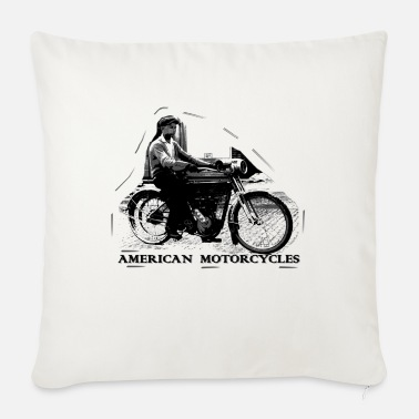 American american_motorcycle - Sofa pillow with filling 45cm x 45cm