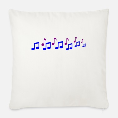 Notes Note - Sofa pillow with filling 45cm x 45cm