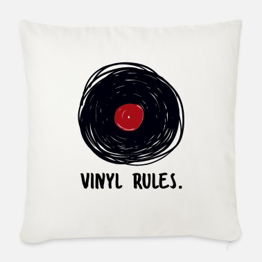 Turn Table Vinyl Rules Record Record Player - Sofa pillow with filling 45cm x 45cm