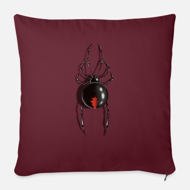 Spider, Black Widow - Sofa pillow with filling 45cm x 45cm