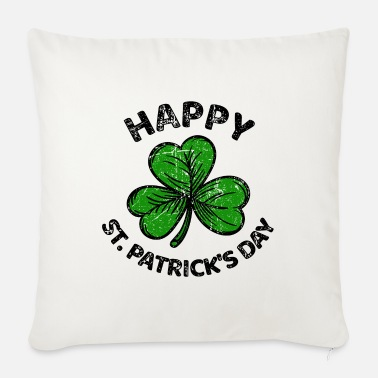 Ireland St. Patricks Day congratulations saying Patty Paddy - Sofa pillow with filling 45cm x 45cm