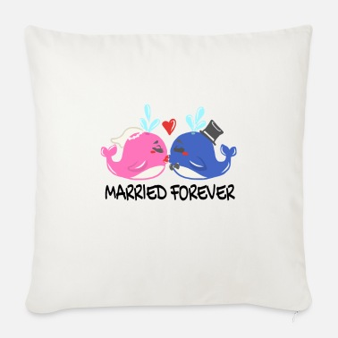 Photo Wedding Marriage Marriage Wedding Ceremony Married - Sofa pillow with filling 45cm x 45cm
