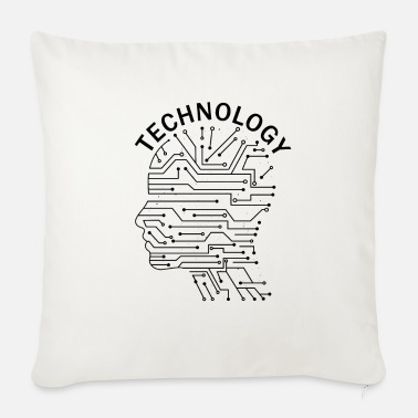 Technology Technology technology nerd - Sofa pillow with filling 45cm x 45cm