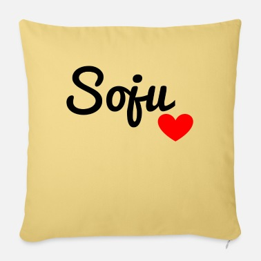 Long Drinks Soju - Sofa pillow with filling 45cm x 45cm
