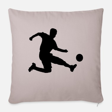Soccer Player Soccer player - Sofa pillow with filling 45cm x 45cm
