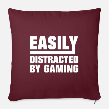 Game Easily distracted by gaming - Sofa pillow with filling 45cm x 45cm