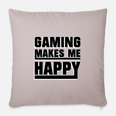 Nerd Gaming makes me happy - Sofa pillow with filling 45cm x 45cm