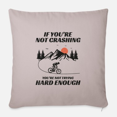 Cyclist Mountain biking bicycle off-road Bike MTB Gift - Sofa pillow with filling 45cm x 45cm