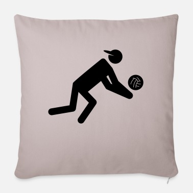 Volley volley - Sofa pillow with filling 45cm x 45cm