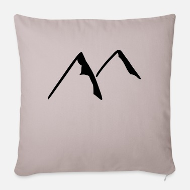 Hill hills - Sofa pillow with filling 45cm x 45cm