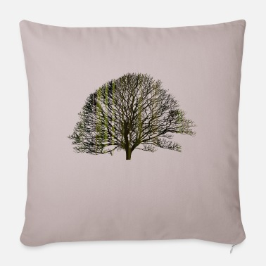 Texturas The tree and the earth - Sofa pillow with filling 45cm x 45cm