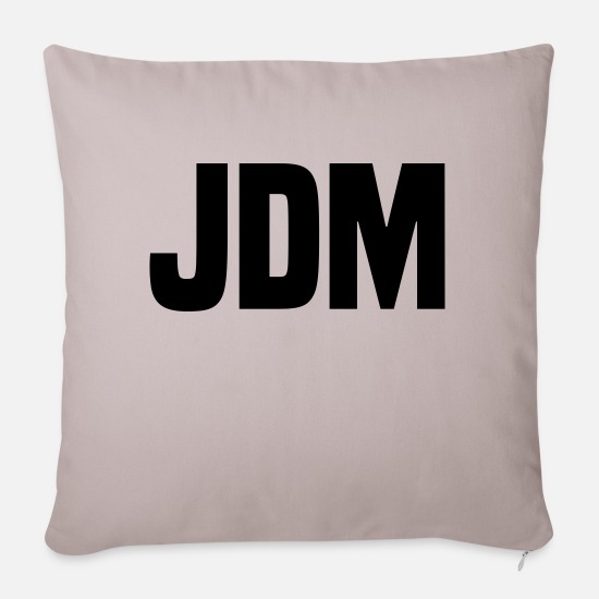 Jdm Pillow Cases - JDM - Sofa pillow with filling 45cm x 45cm light taupe