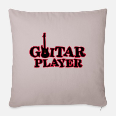 Guitar Player guitar player - Sofa pillow with filling 45cm x 45cm