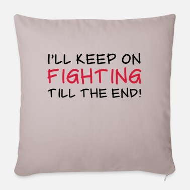 Fighting Fighting - Sofa pillow with filling 45cm x 45cm