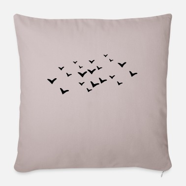 Bird Birds - Bird - Sofa pillow with filling 45cm x 45cm