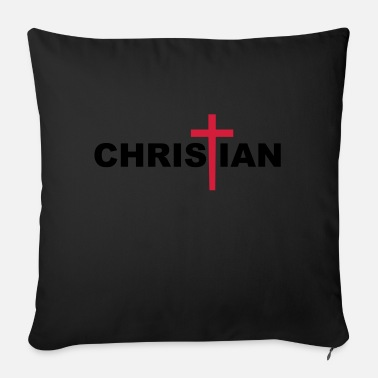 Cross Christianity Christian Cross - Sofa pillow with filling 45cm x 45cm