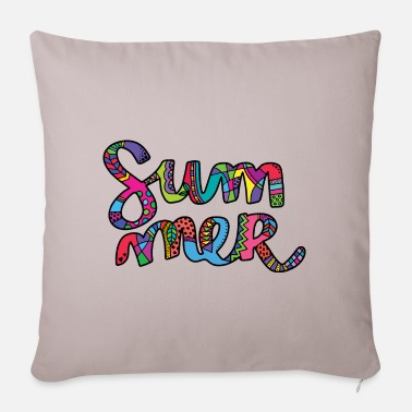 Summer Colours Colours of Summer - Sofa pillow with filling 45cm x 45cm