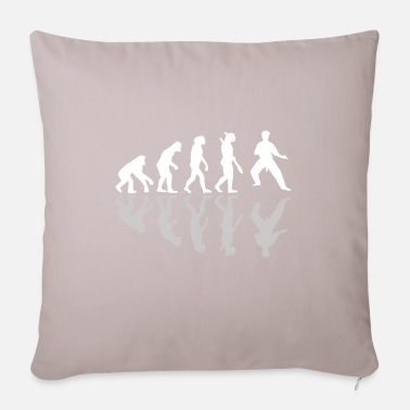 Homo Sapien Shadow Evolution Wing Chun gift - Sofa pillow with filling 45cm x 45cm