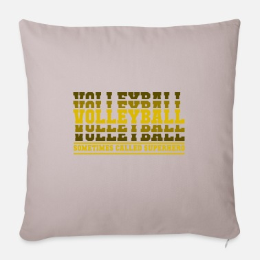Volley Volleyball superhero gift - Sofa pillow with filling 45cm x 45cm