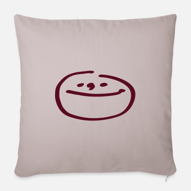 Moonface moonface - Sofa pillow with filling 45cm x 45cm