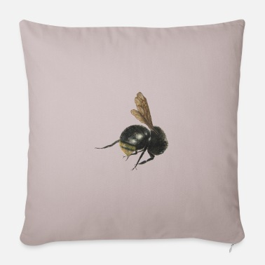 Bumble Bee bumble bee - Sofa pillow with filling 45cm x 45cm