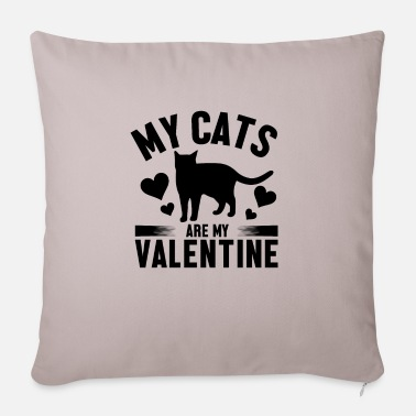 Cat Of The Cat Valentine - Sofa pillow with filling 45cm x 45cm