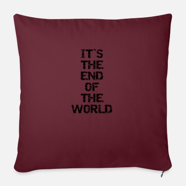 End Of World The End of the World - Sofa pillow with filling 45cm x 45cm