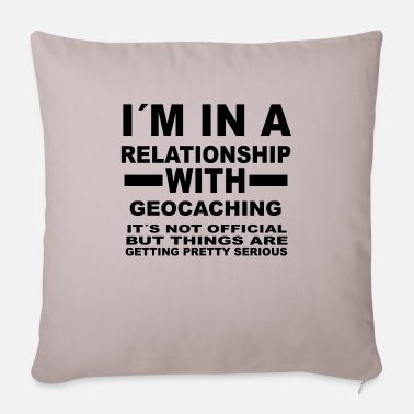 Relationship relationship with - Sofa pillow with filling 45cm x 45cm