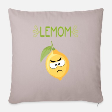 Bitter Bitter lemon. - Sofa pillow with filling 45cm x 45cm