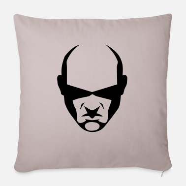 balded head - Sofa pillow with filling 45cm x 45cm