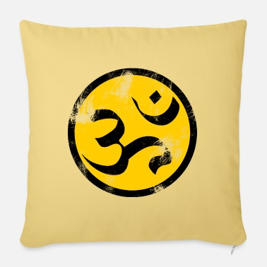 Sanskrit Om Sanskrit - Sofa pillow with filling 45cm x 45cm