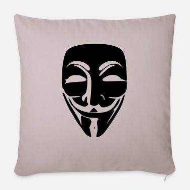 We Do Not Forgive Anonymous - Sofa pillow with filling 45cm x 45cm