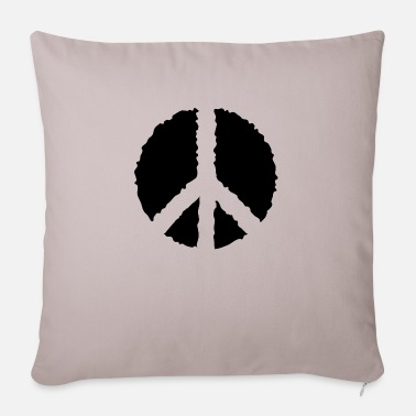 Peace PEACE PEACE- - Sofa pillow with filling 45cm x 45cm